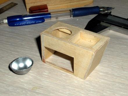 Meuble-cuisine de fabrication simple. La cuve de l'évier est en plastique - 32.8ko