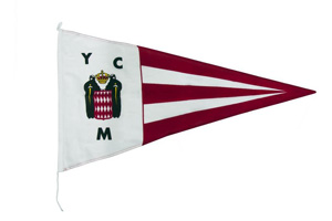 Guidon du Yacht Club Monaco - 31.7 ko