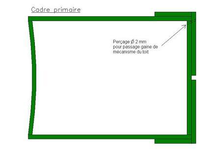 Perçage du cadre pour le passage de la gaine - 10.9ko
